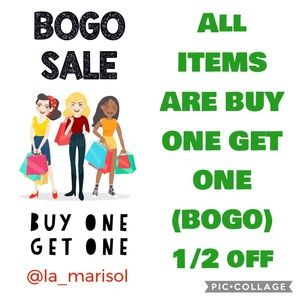 Buy 1 at FULL LIST PRICE, Get 1/2 OFF the 2nd